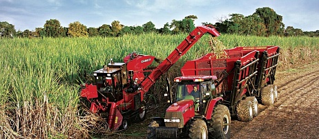 Case IH demonstrates benefits of mechanization for sugar cane production at Congrès Sucrier 2012